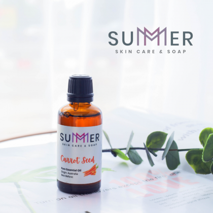 Summer Soap Pure Carrot Seed 100 mL Essential Oil 100% Natural Plant Aromatherapy Diffuser Humidifier Massage