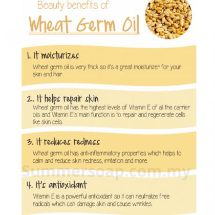 Summer Soap Wheat Germ Oil Refined 250ml 精致小麦胚芽油 Carrier Oil/ DIY Skincare Soap Making Oil
