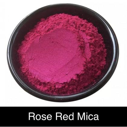 Rose Red Mica 5g 玫红色粉