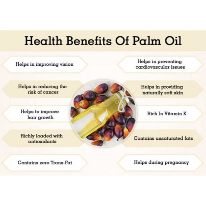 Pure Red Palm Oil (Premium Food Grade) 5L Soap Making / Carrier Oil 红棕榈油 (特级)