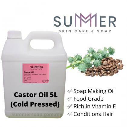 Castor Oil (First Grade) 5L 高级蓖麻油
