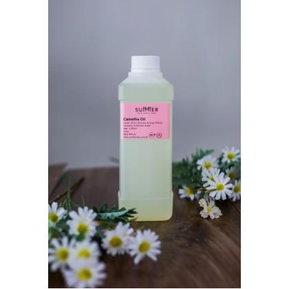 Camellia Oil Refined 1L 精致山茶花油 苦茶油 Cold Pressed/ Tea Seed Oil/ Tsubaki Oil / DIY Soap Making Oil/ Hair Care Oil